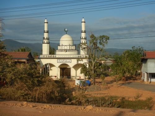Recht viele Muslime in und um Kampot